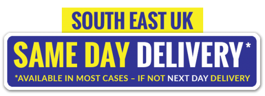 Same day delivery available on most orders