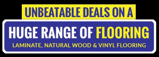 Unbeatable deals on flooring - vinyl, wood, laminate